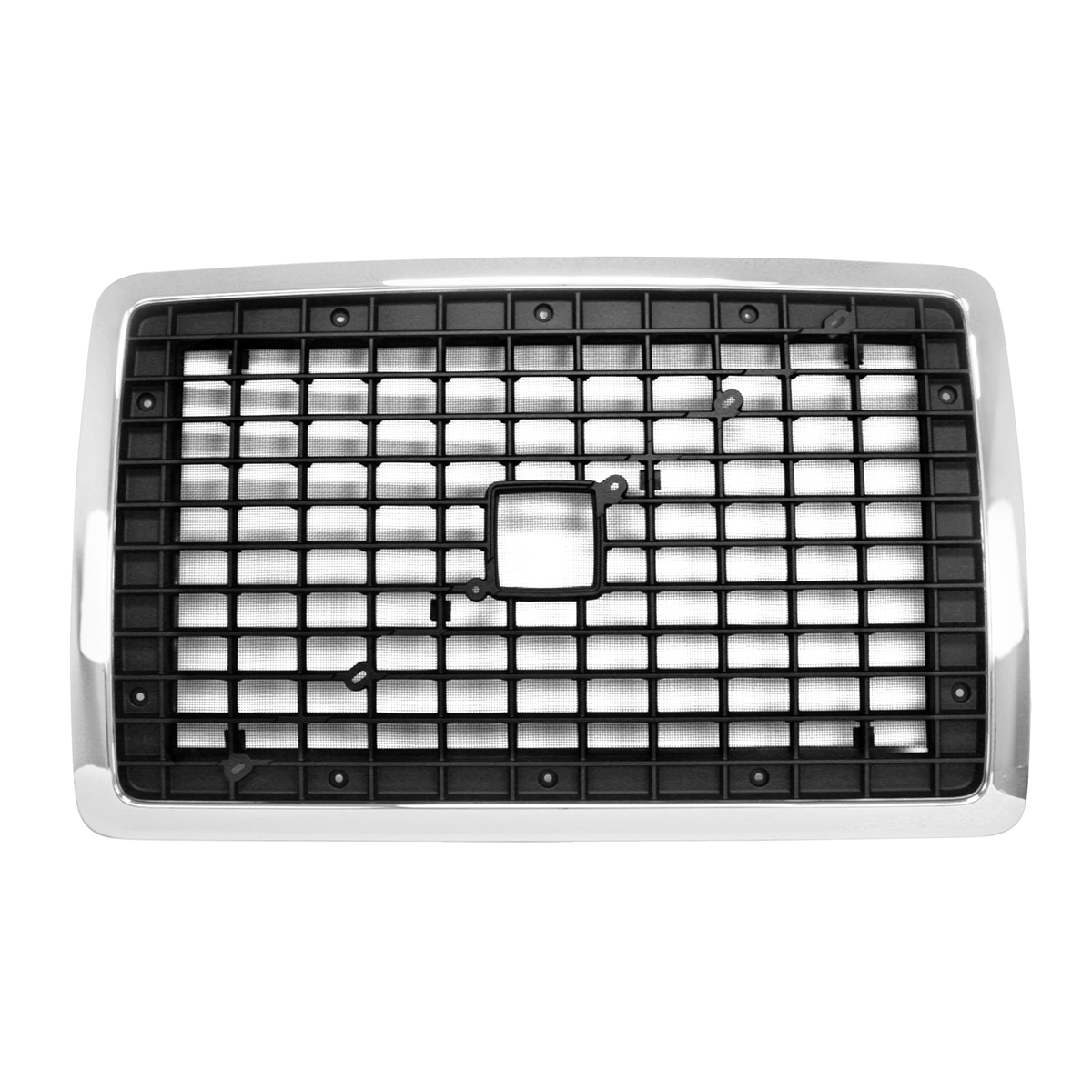 89320 Volvo Chrome Plastic Grille with Bug Screen