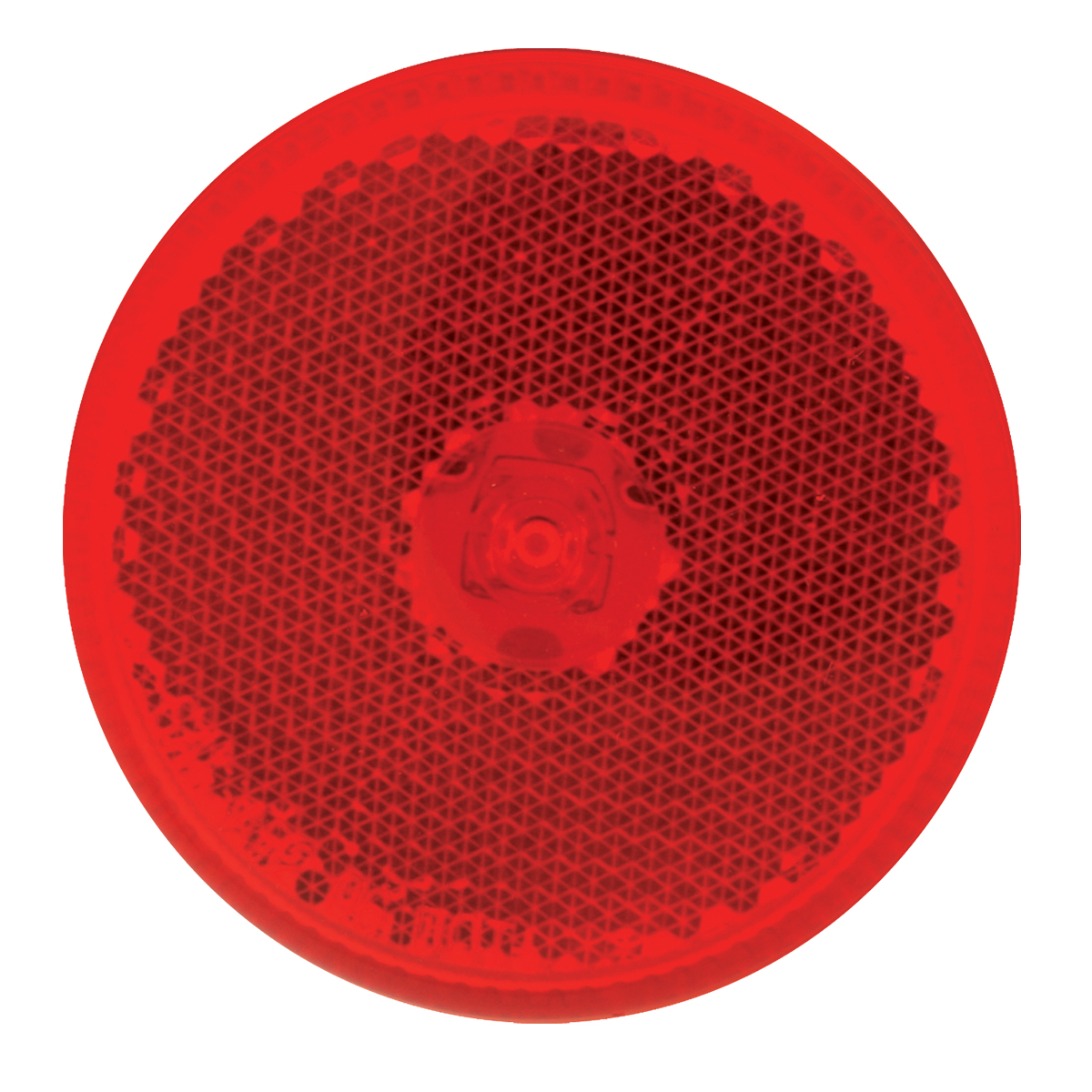 "76422 2.5"" Single LED Marker Light in Red/Red"