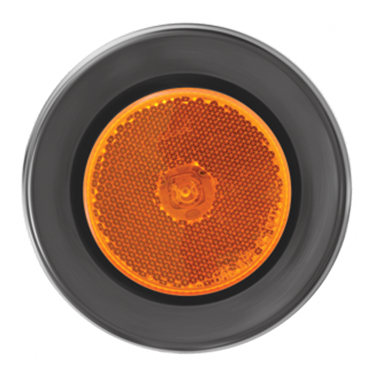 "76425 2.5"" Single LED Marker Light with Black Rubber Grommet"