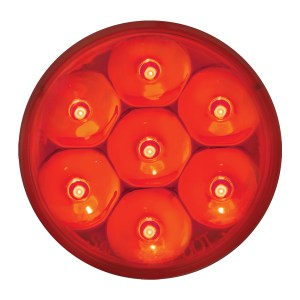Pearl LED Marker Light in Red/Red