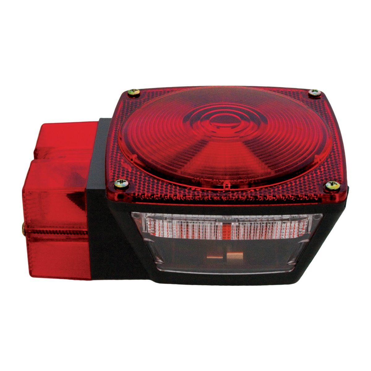 #77635 Universal Stud-Mount Trailer Roadside Light with License Light