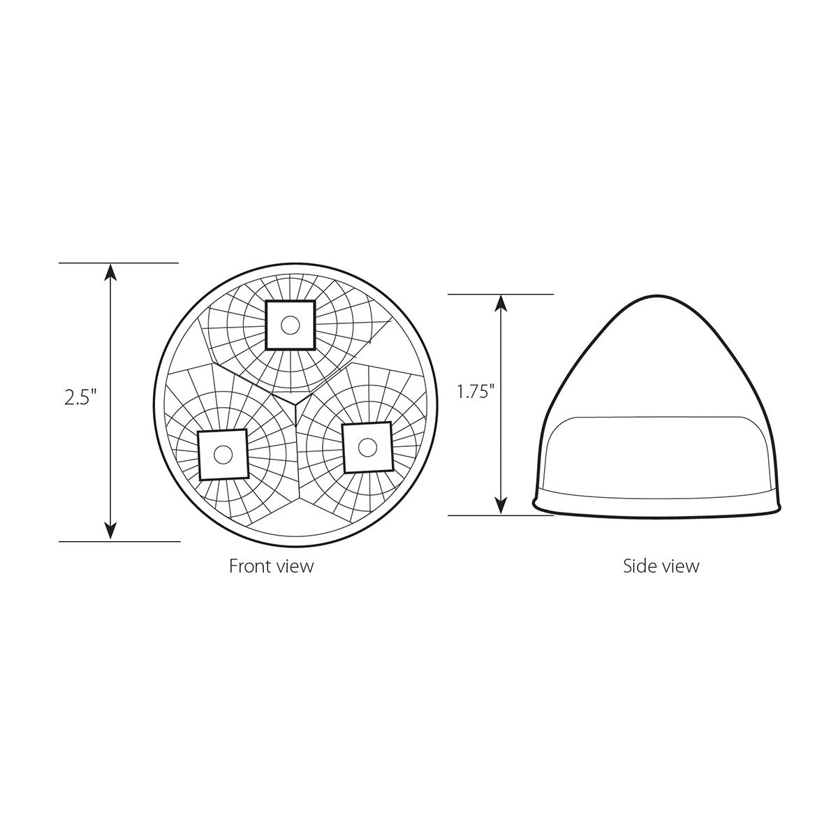 """2.5"""" Beehive Spyder LED Lights"""
