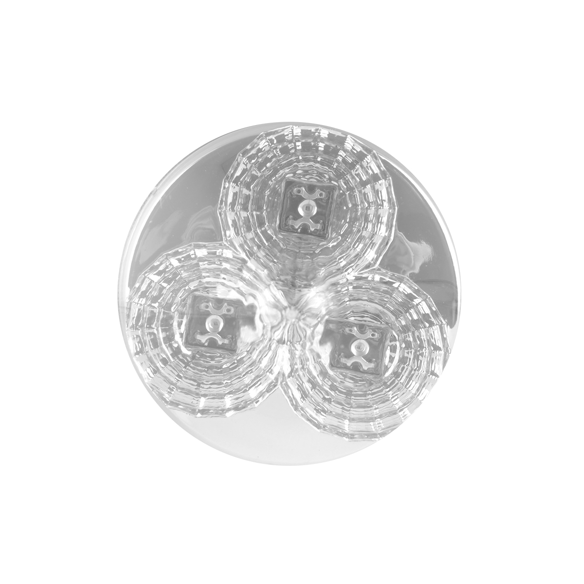 Projected Spyder LED Marker Light in Clear Lens