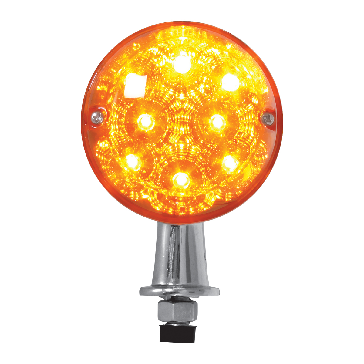 77800 Single Face Honda Spyder LED Pedestal Light in Amber/Amber