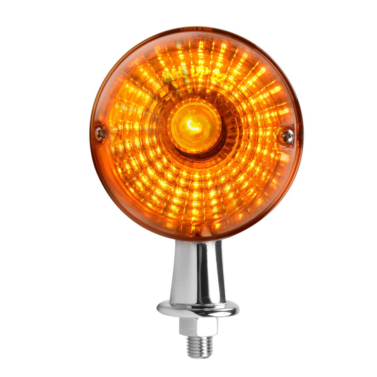 """#78740 1 ⅛"""" Honda Marker Amber Light"""
