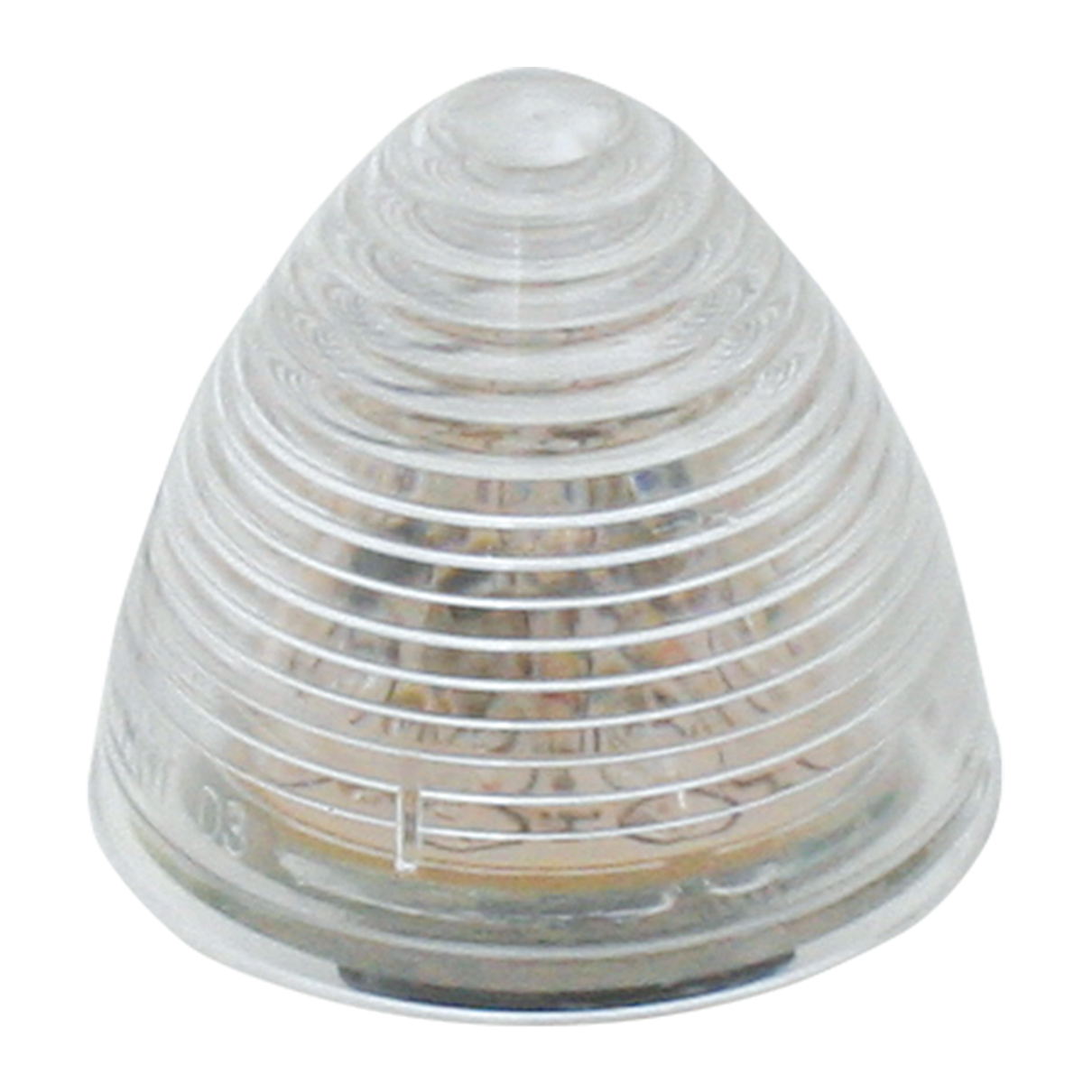 Beehive LED Marker Light in Clear Lens