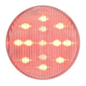 "79318 2.5"" Fleet LED Marker Light in Red/Clear"