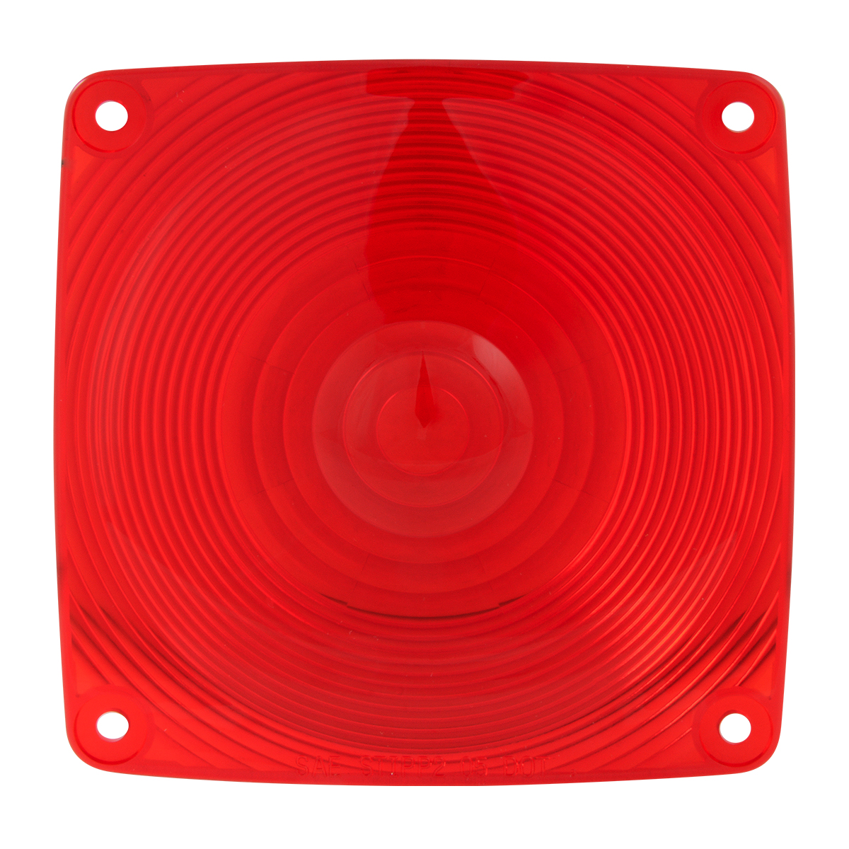 #80352 Square Red Lens