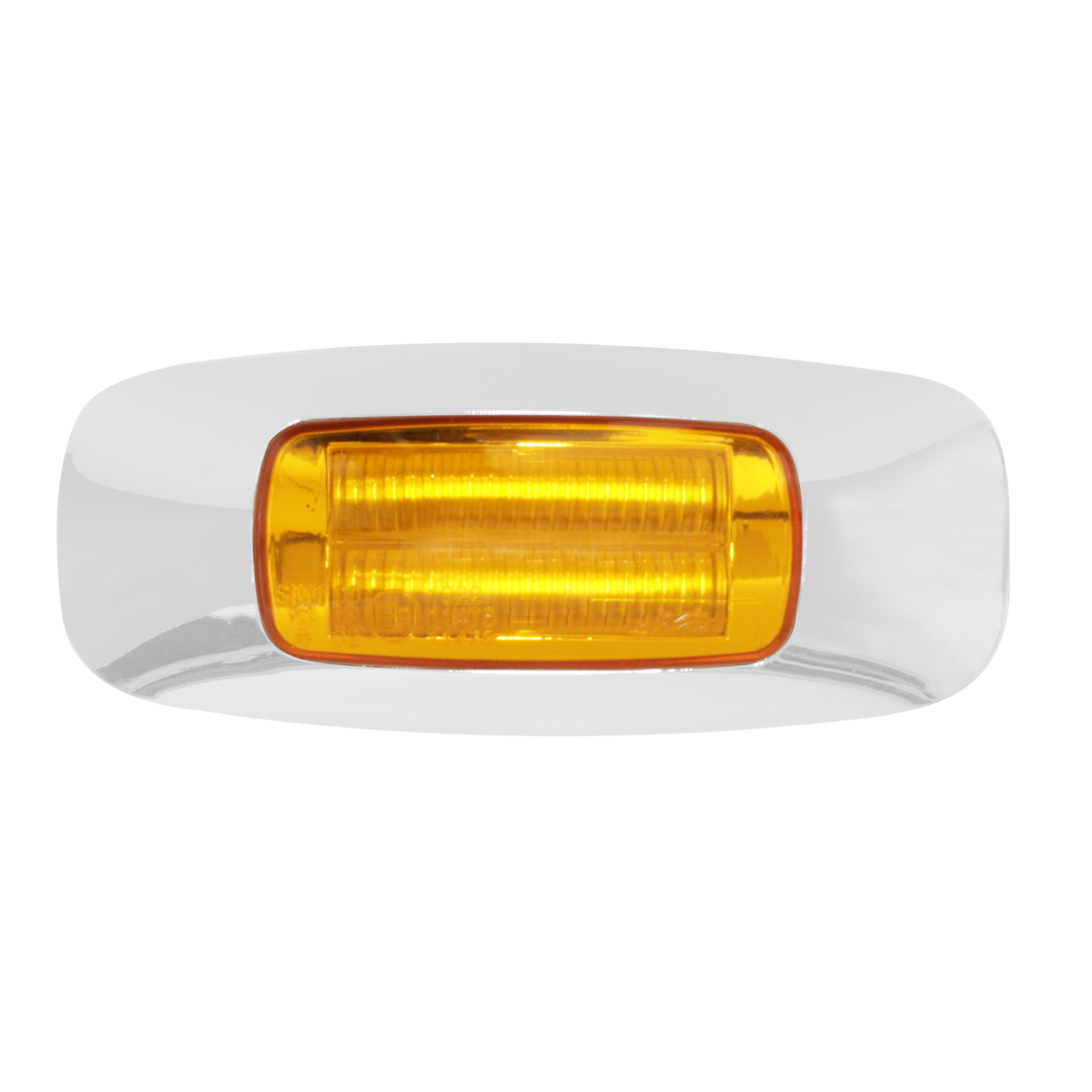 "74820 3.5"" Rectangular Prime LED Marker Light in Amber/Amber"