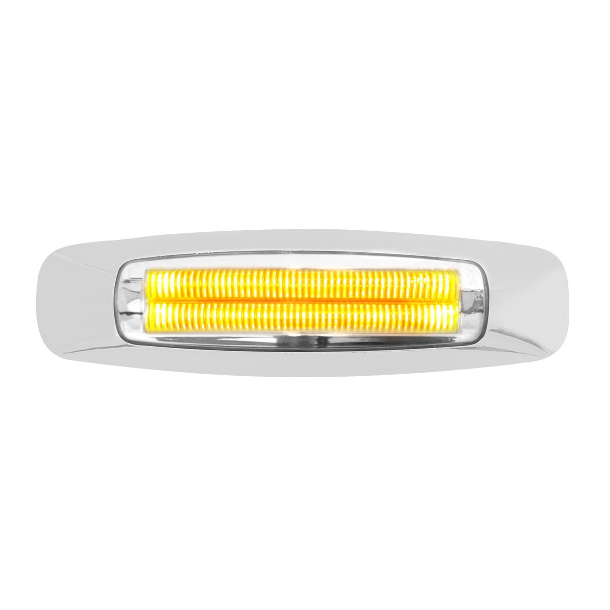 "74841 5-3/4"" Rectangular Prime LED Marker Light in Amber/Clear"
