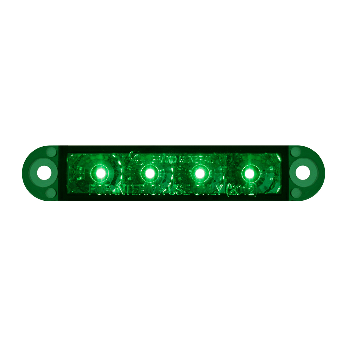 "76076 3.5"" Dual Function LED Light in Green/Green"