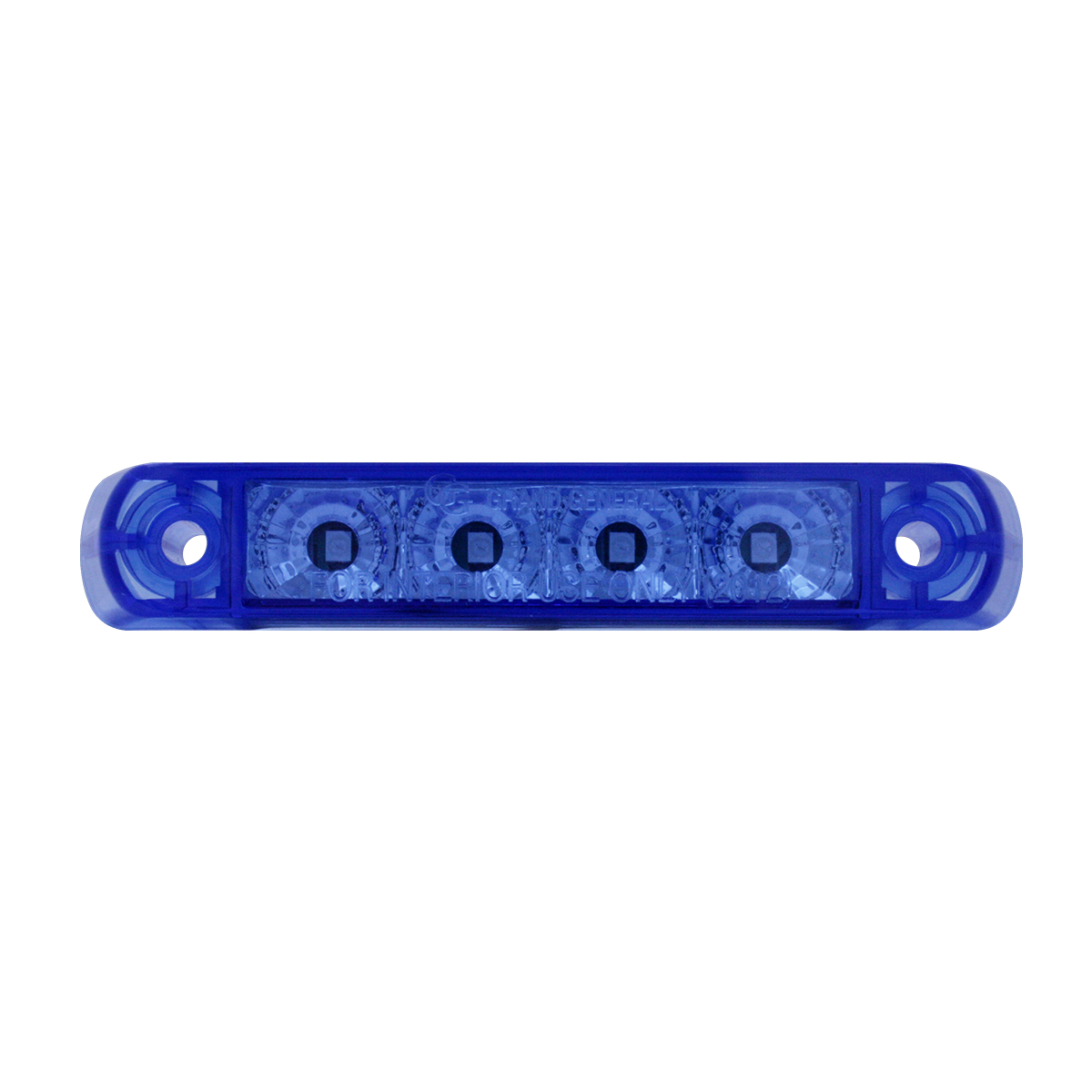 76085 Surface Mount Dual Function LED Light in Blue/Blue