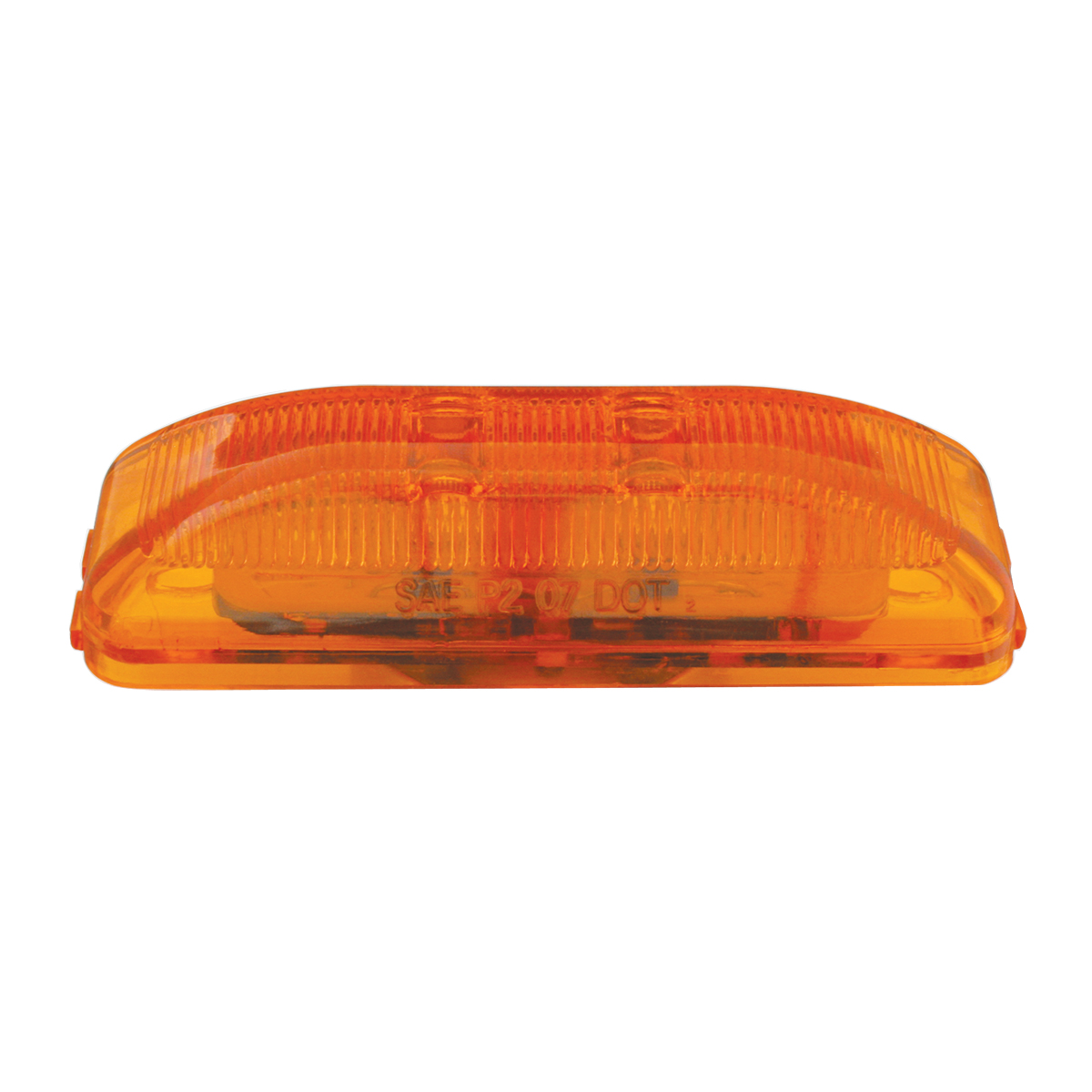 76400 Medium Rectangular Fleet LED Marker Light in Amber/Amber