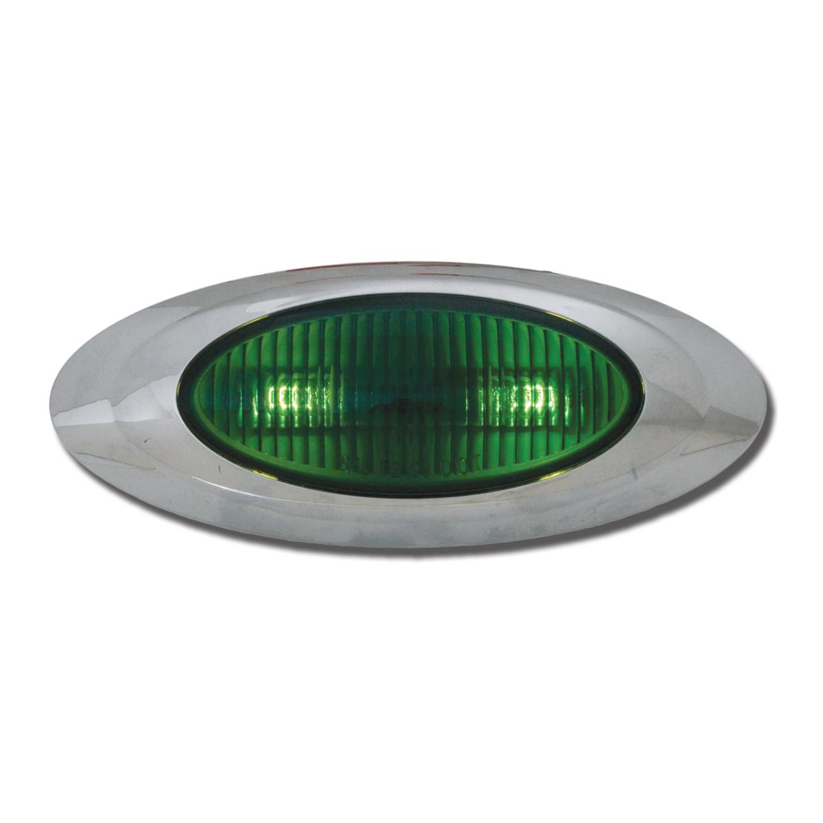 #77643 Plug In Y2K Marker Green Light - 2 Bulbs