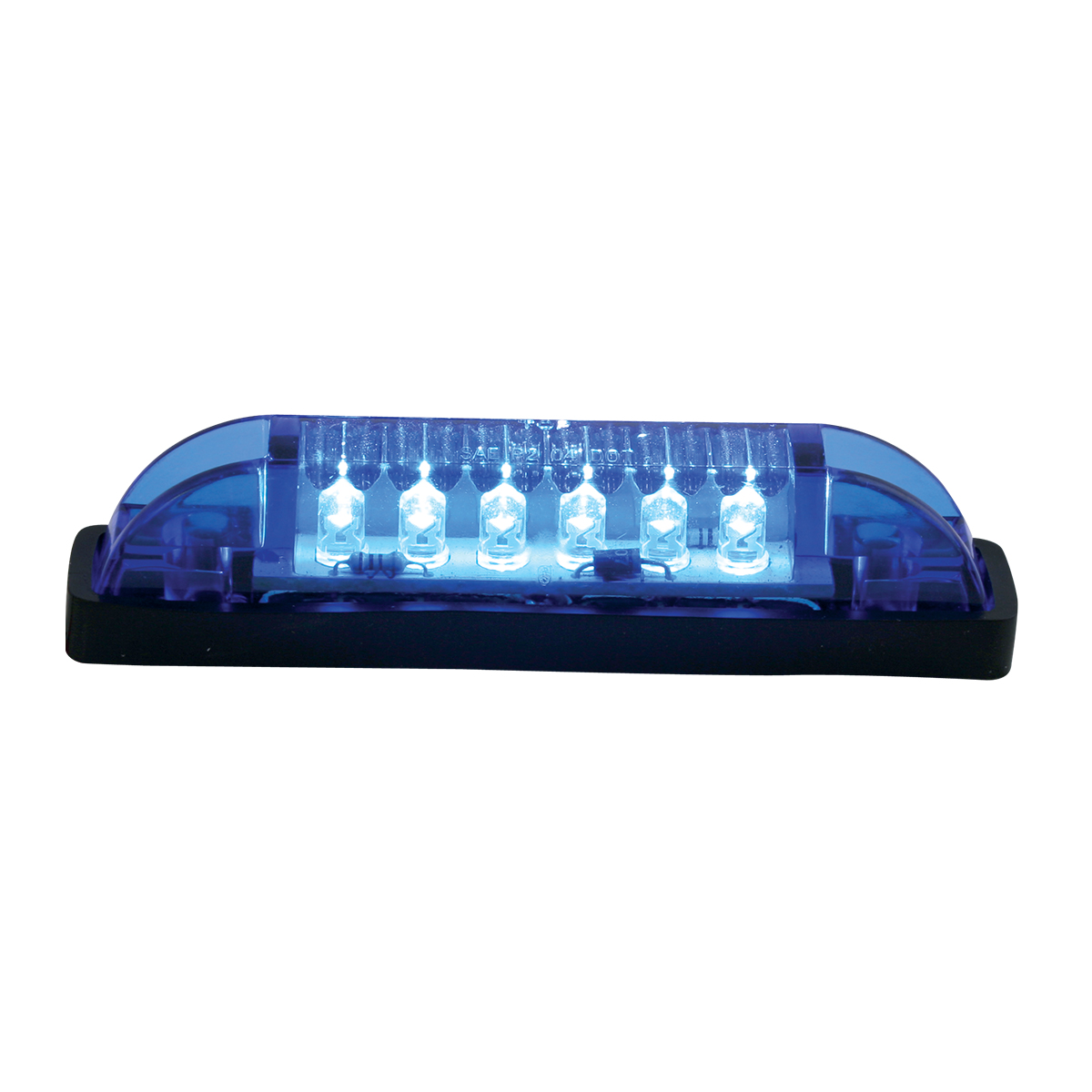 77654 Thin Lin Surface Mount LED in Blue/Blue