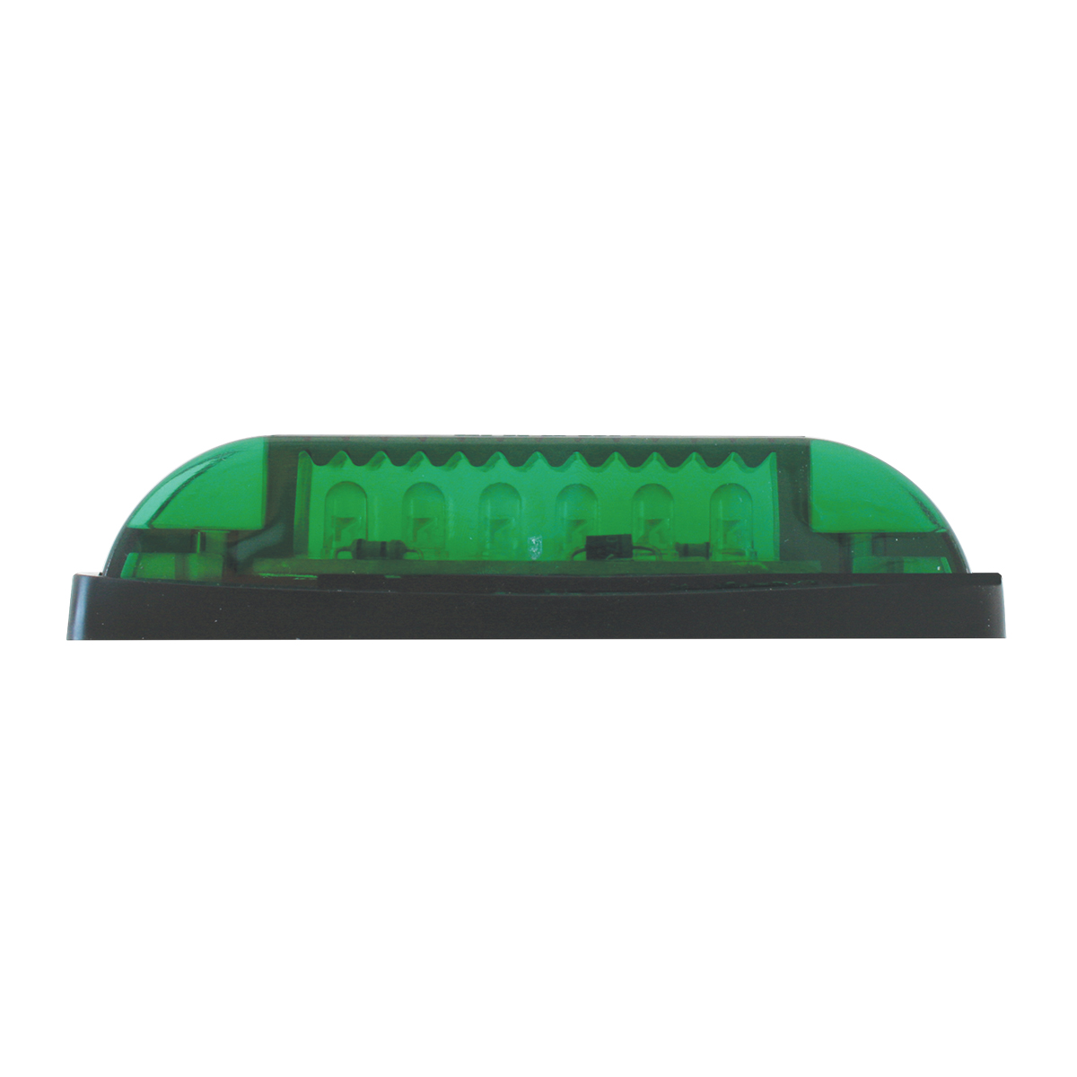 77655 Thin Lin Surface Mount LED in Green/Green