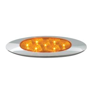 Ultra Thin Surface Mount Y2K LED Light with Chrome Bezel
