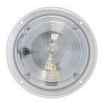 5″ Round Chrome Steel Dome Light