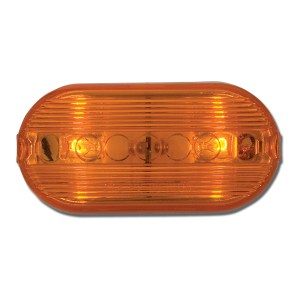 Oblong Two-Bulb Marker Light