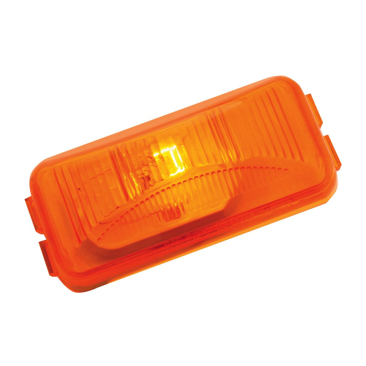 80275 Small Rectangular Single Bulb Sealed Marker & Clearance Light