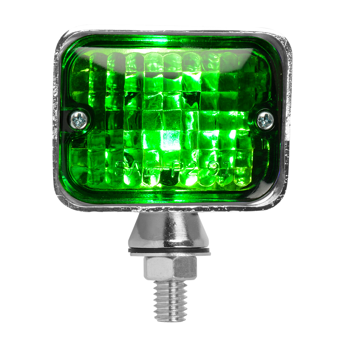 #80892 Small Single Filament Green Light