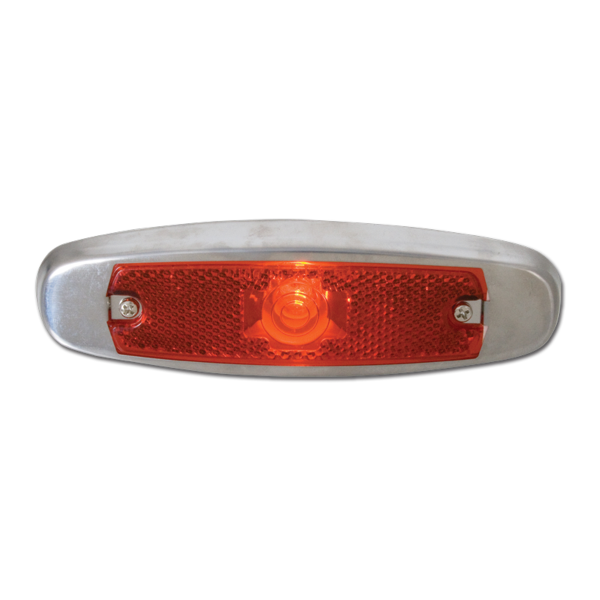 #81345 Red Fender Light with Snap-In Pigtail