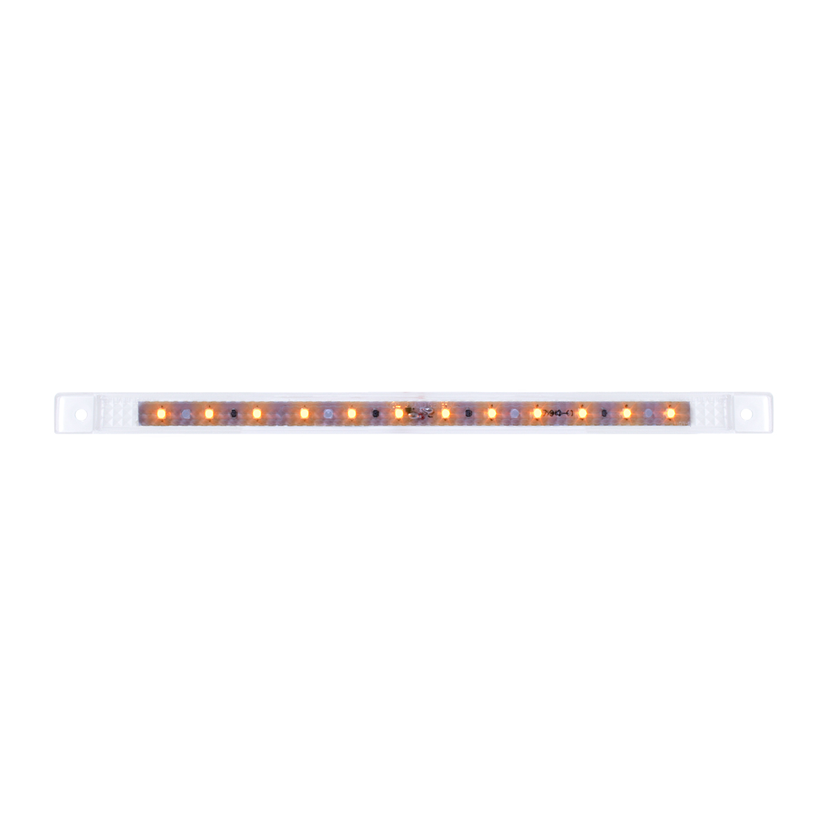 """75961 10-1/8"""" Ultra Thin LED Marker Light in Clear Lens"""
