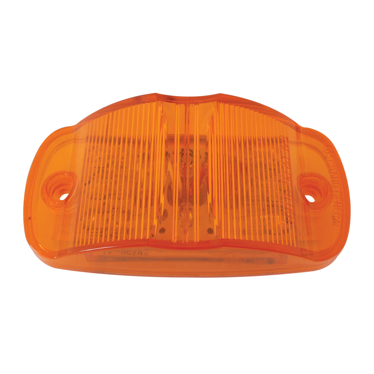 Rectangular Camel Back Wide Angle LED Marker Light in Amber/Amber