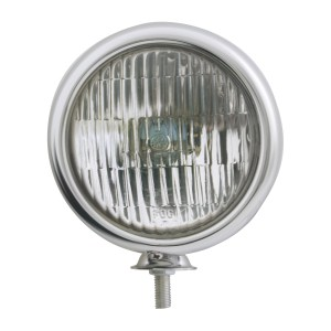 """#80422 Chrome Plated 5"""" Sealed Beam Light - Clear"""