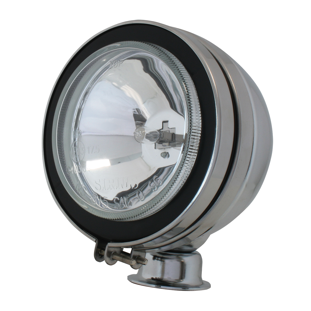 "#80630 5"" Chrome Plated Off-Road Light 55 watts - Clear"