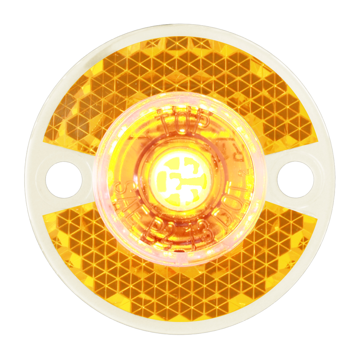 81781 Mini Surface Mount LED Light in Amber/Clear