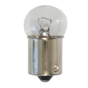 #89 Extra Bright Clear Glass Single Function Light Bulb
