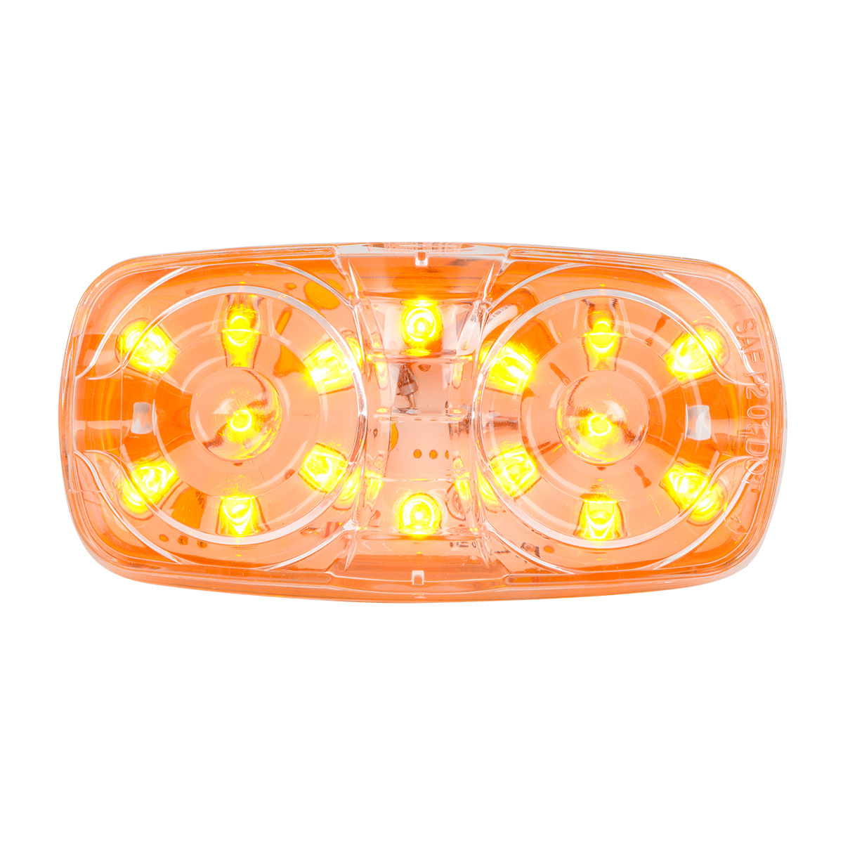 85242 Tiger Eye LED Marker Light in Amber/Amber