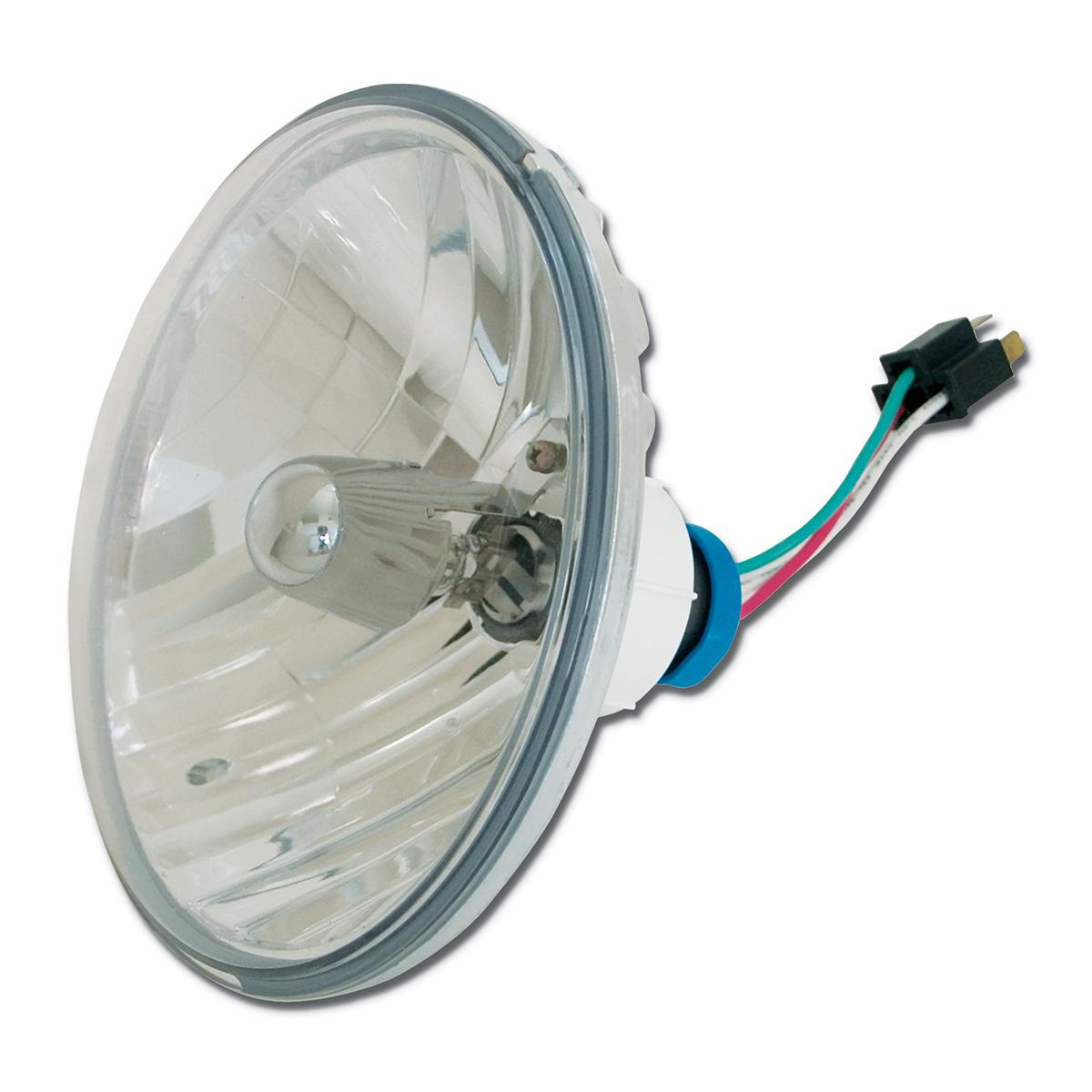 """#87839 7"""" Round Complex Reflector Headlamp"""