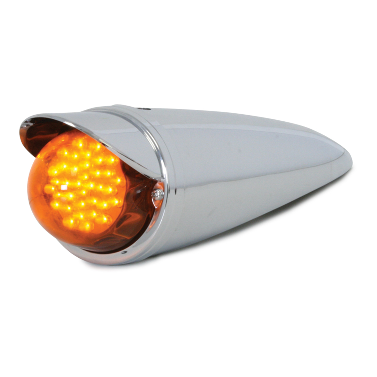 Amber Cab LED Marker Light w/ Visor