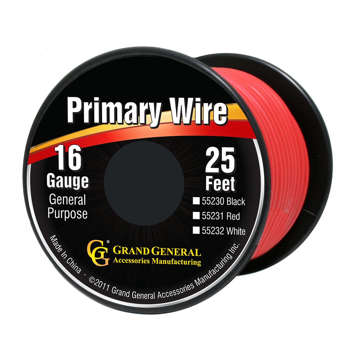 55231/55231SP Primary Wire in 16 Gauge, 25 Feet
