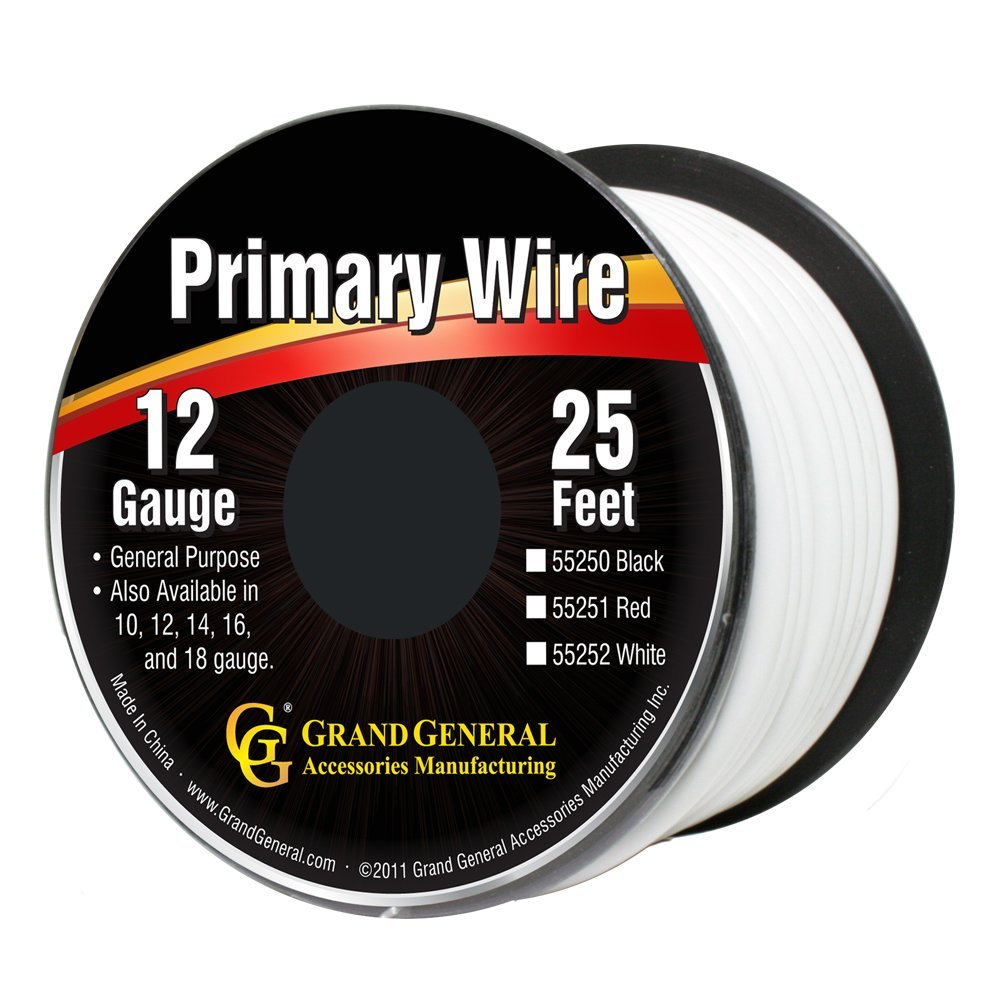55252 Primary Wires in 12 Gauge
