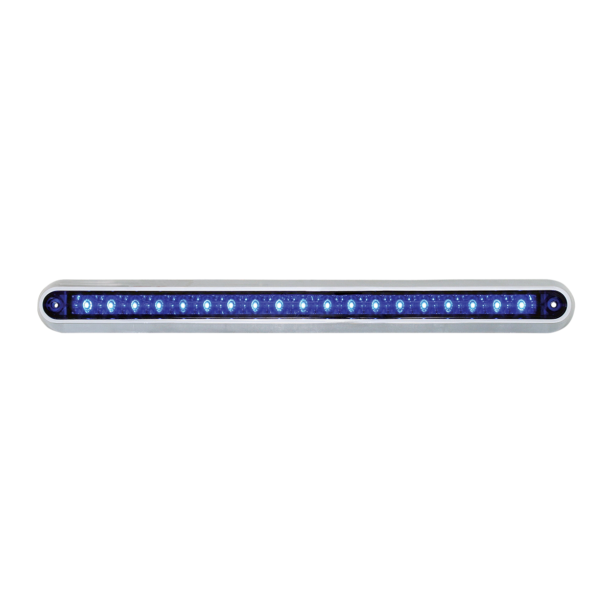 "76292 12"" Surface Mount Light Bar with Chrome Plastic Base"