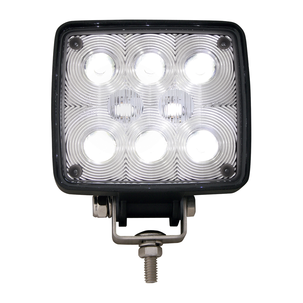 GG Grand General 81751 Stainless Steel Medium Z Bracket with 4.5 inches LED Work Light