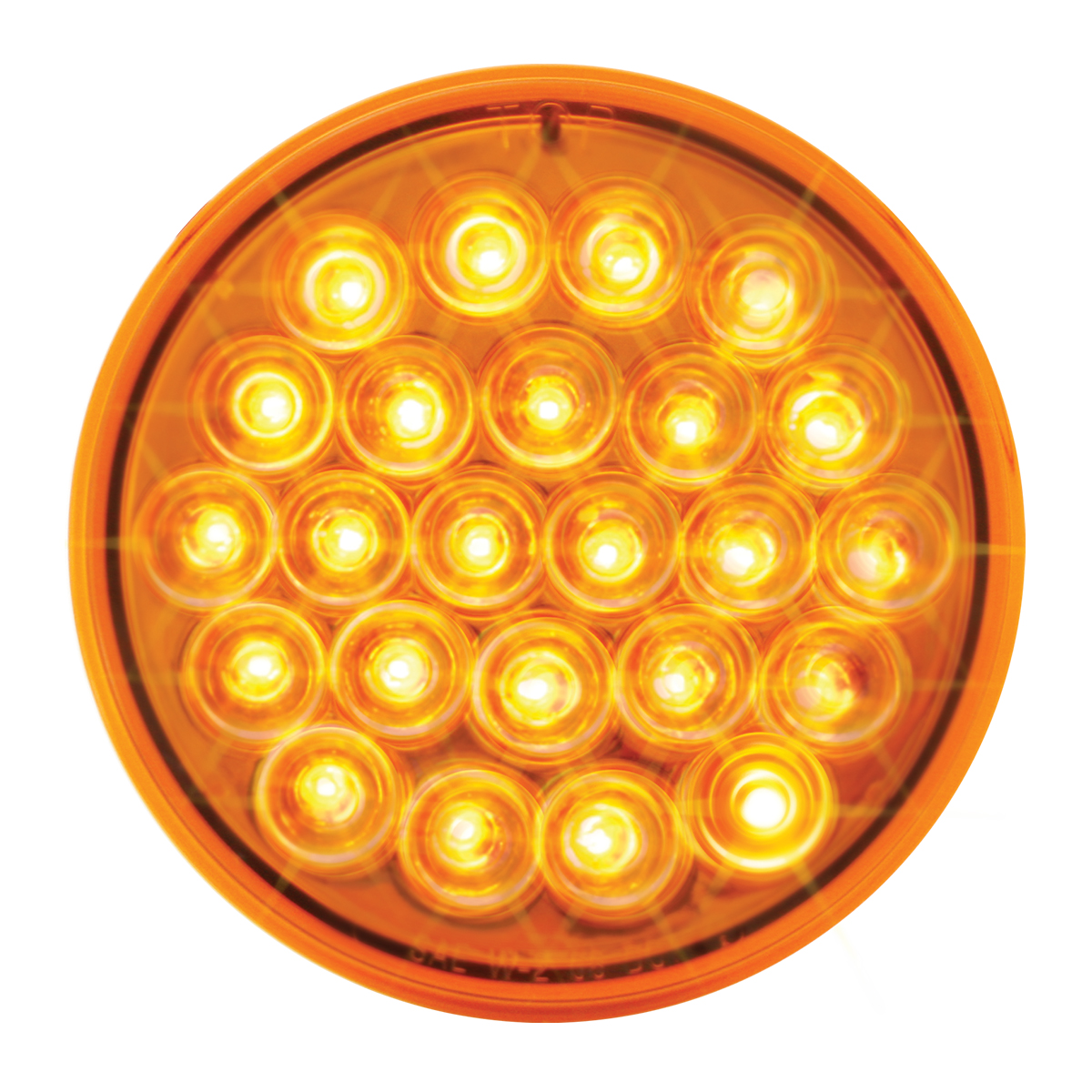 "76505 4"" Round Continuous Pearl LED Strobe Light"