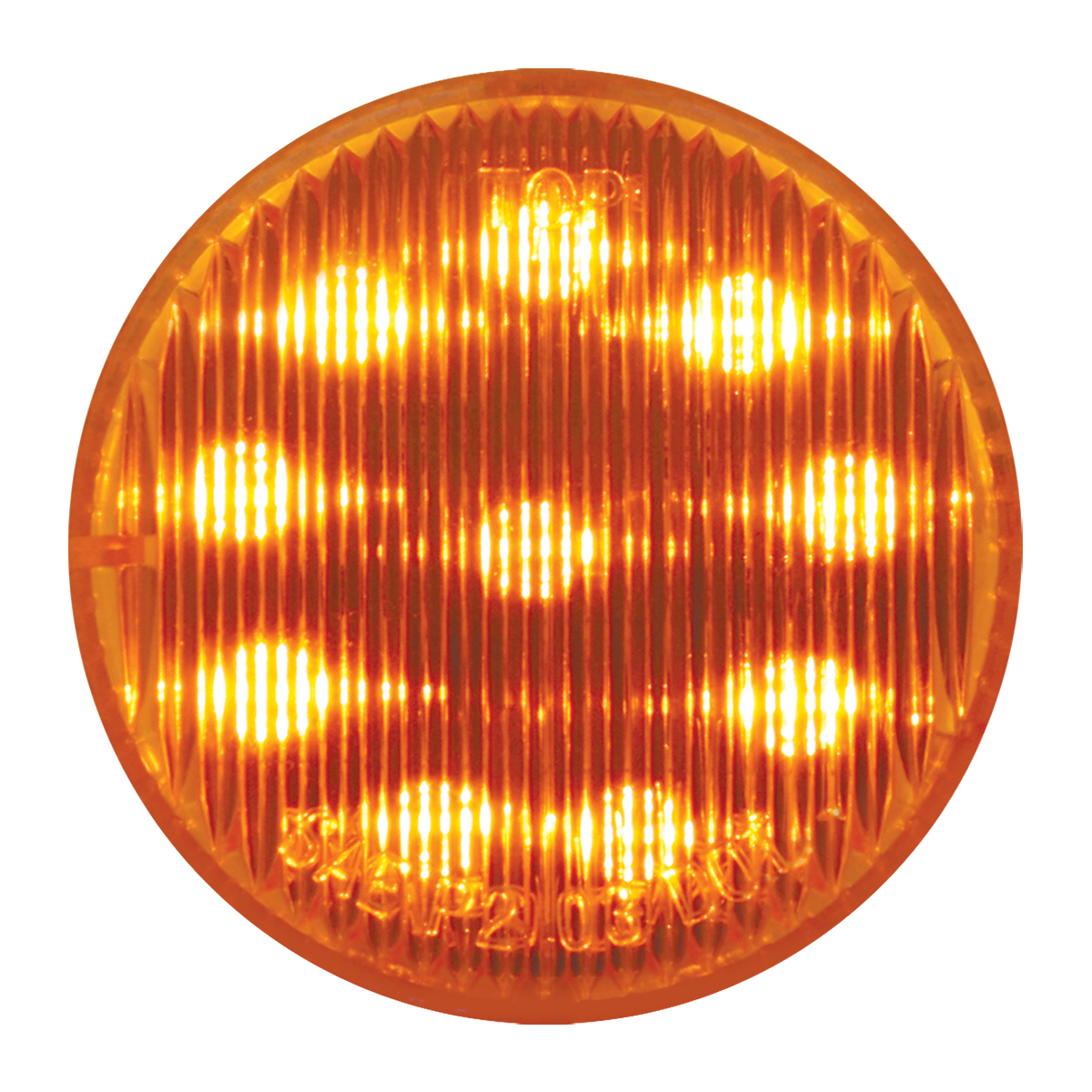 "#79280 2"" LED Flat Amber/Amber Light"