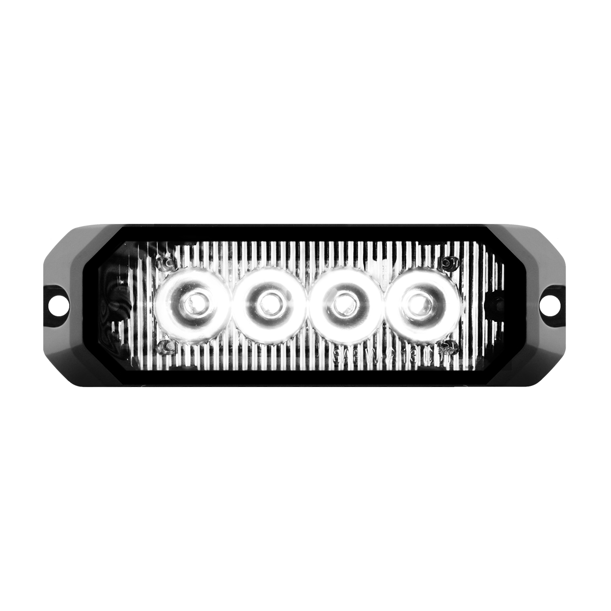 "81804 4"" Medium Rectangular High Power LED Strobe Light"