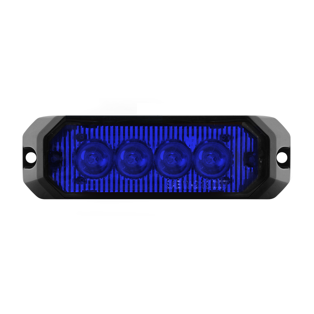 "81805 4"" Medium Rectangular High Power LED Strobe Light"