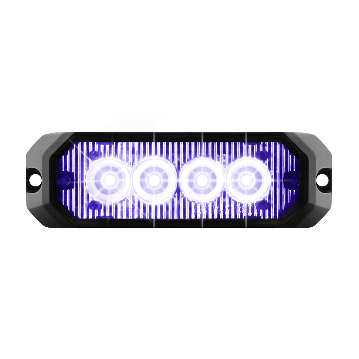 "81806 4"" Medium Rectangular High Power LED Strobe Light"