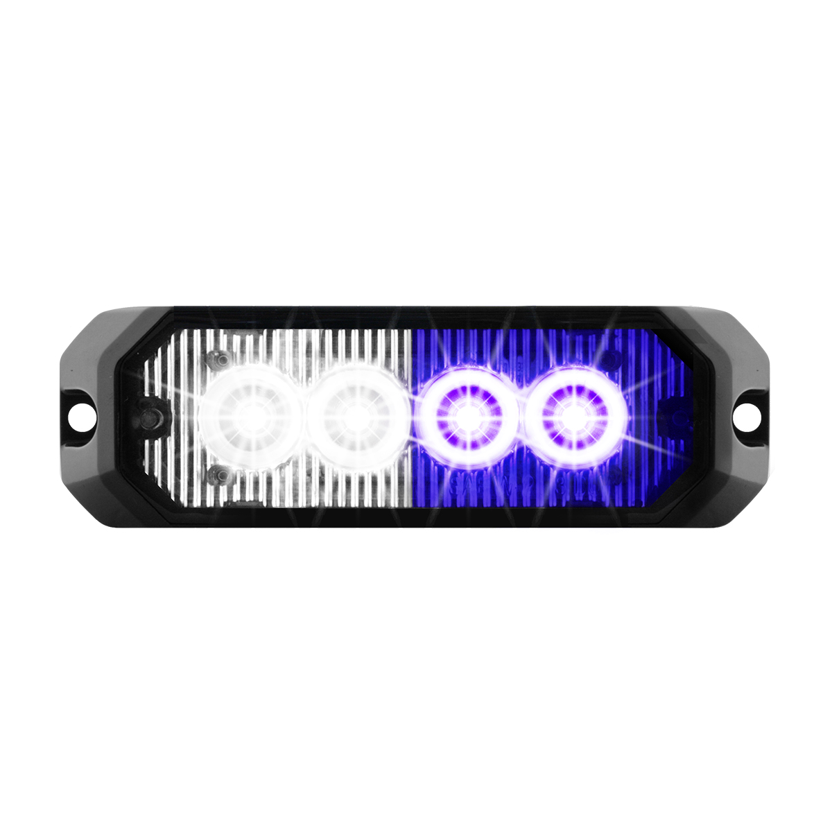 "81808 4"" Medium Rectangular High Power LED Strobe Light"
