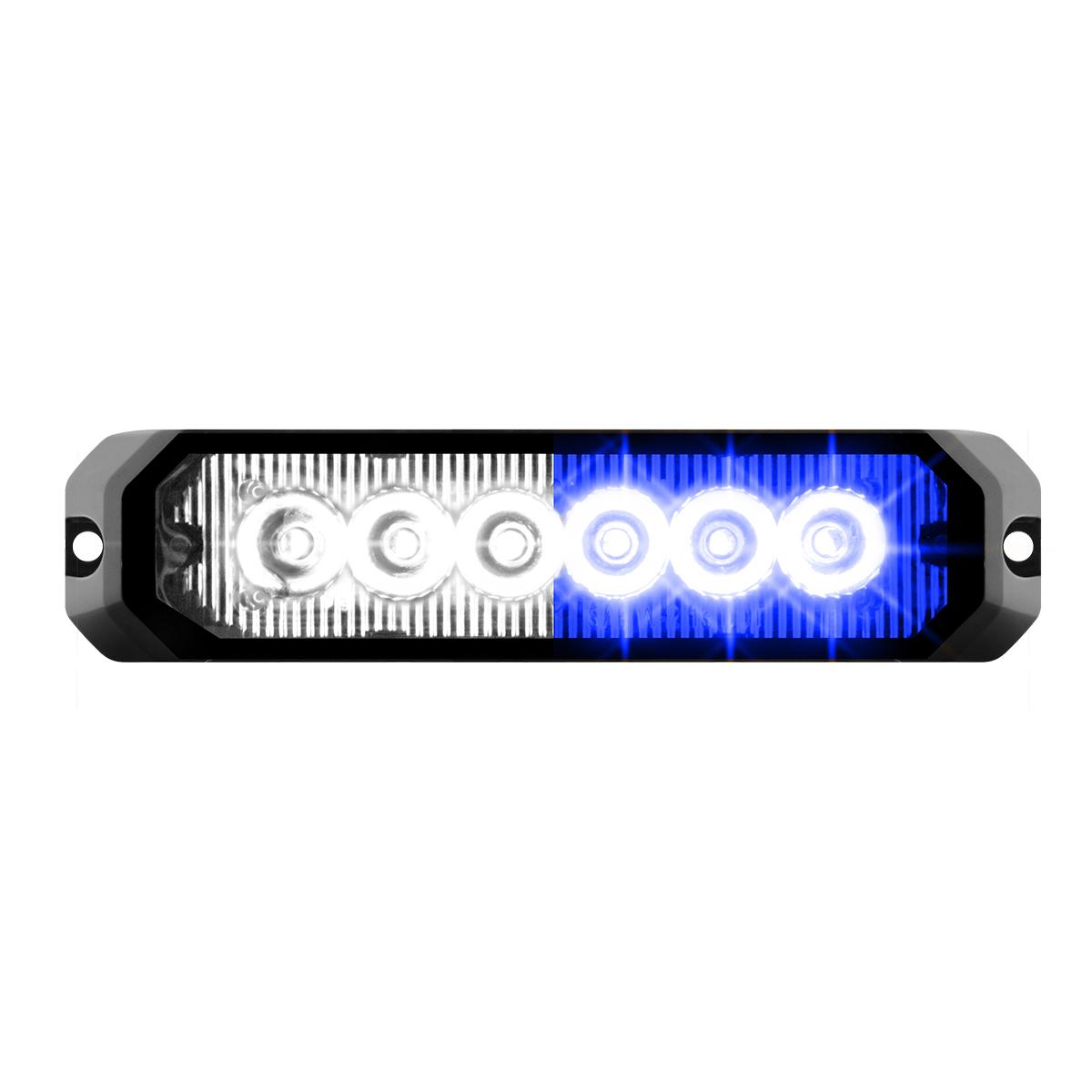 """81818 5"""" Medium Rectangular High Power LED Strobe Light"""
