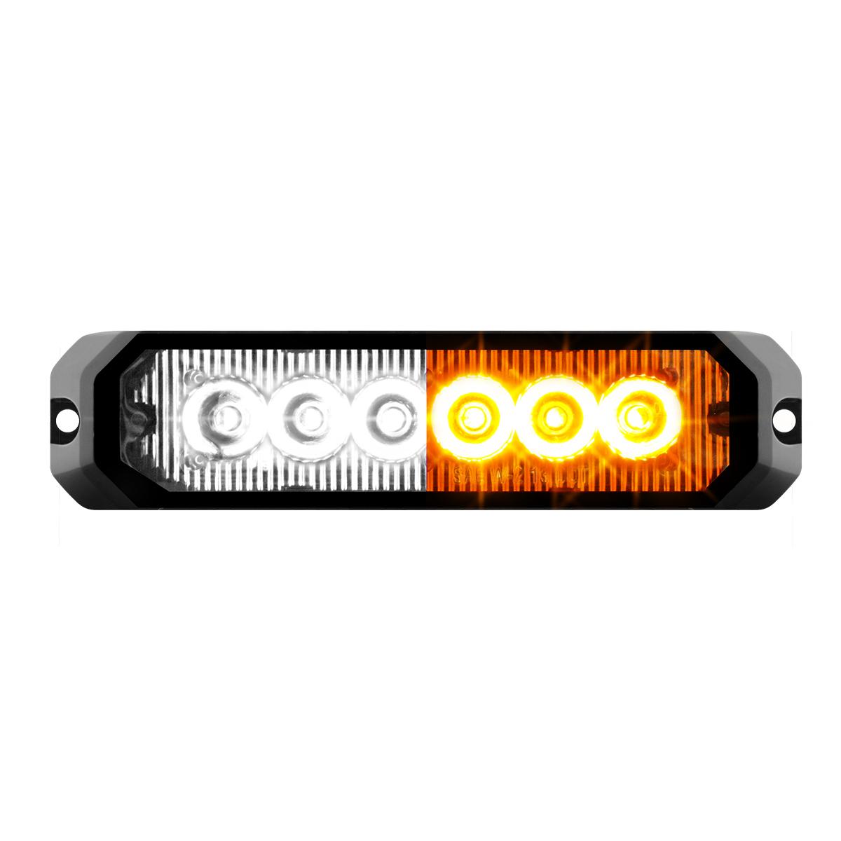 """81819 5"""" Medium Rectangular High Power LED Strobe Light"""
