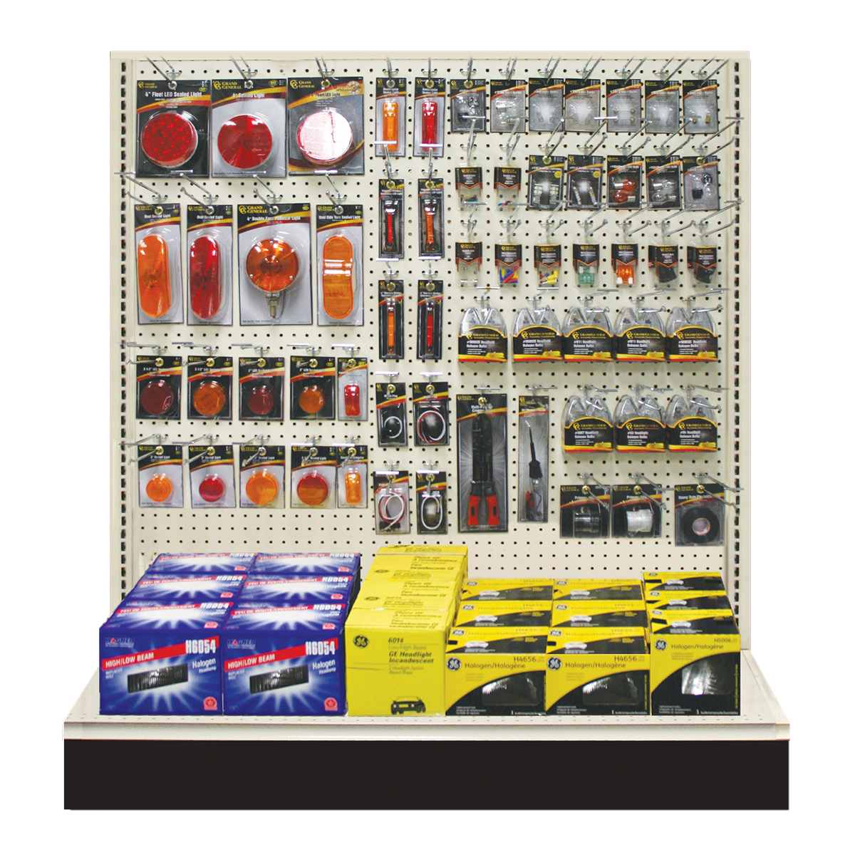 Lighting & Electrical Combo Planogram - Grand General - Auto Parts ...