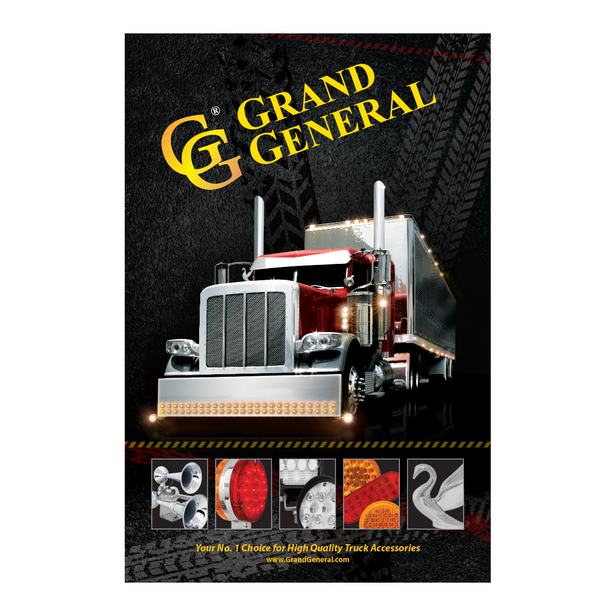 "Grand General Truck Poster 24"" (W) x 36"" (H)"