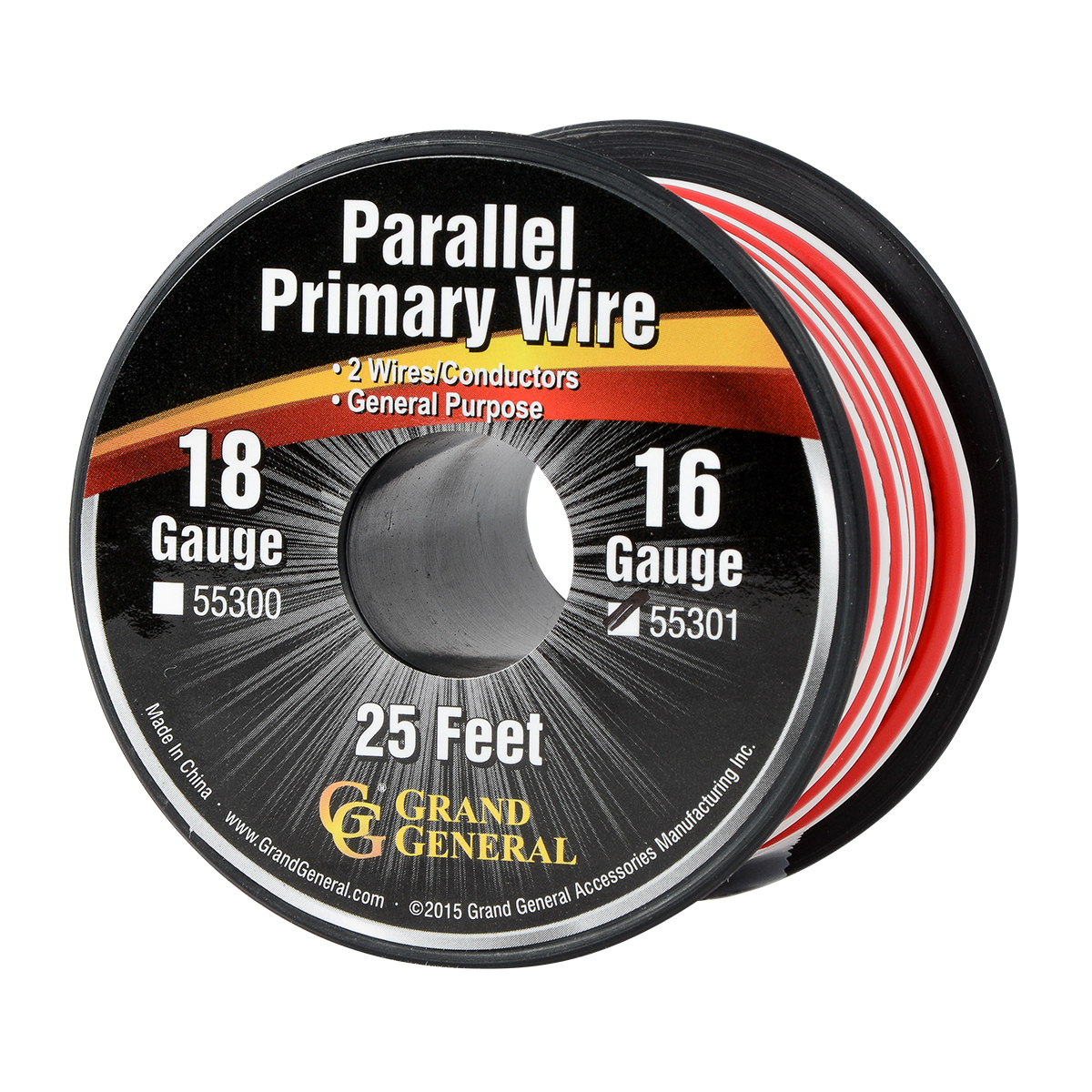 55301 Parallel Primary 2 Wire Roll in 16 GA